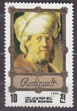KOREA Pn. 1983 MNH** SC#2264 10ch, Rembrandt Paintings. Man in Oriental Costume.