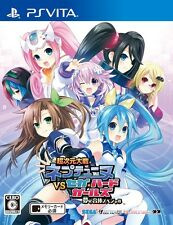 Used PS Vita Superdimension Neptune VS Sega Hard Girls Japanese version F/S