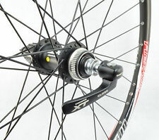 ALEX DP20 SHIMANO DEORE XT CENTER LOCK HUBS MTB HAND BUILD WHEELSET 26""