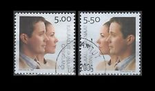 Greenland Scott #s 429-430 Wedding Crown Prince & Mary Donaldson (2 USED Stamps)