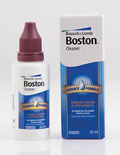 30ml Bausch & Lomb Boston Advance dura y gas permeable Limpiador de lentes de contacto B&L