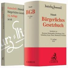 Palandt Bürgerliches Gesetzbuch BGB Kommentar 75. Auflage 2016 C.H.Beck