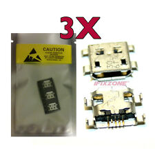 """3 X New Micro USB Charging Port For Medion 7"""" Tablet Lifetab E7312 MD 98488 USA"""