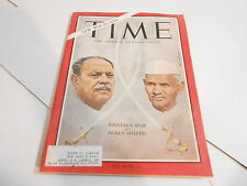 SEPT 17 1965 TIME news magazine - PAKISTAN AYUB - INDIA SHASTRI