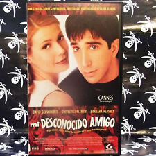 MI DESCONOCIDO AMIGO (Matt Reeves) VHS . David Schwimmer, Gwyneth Paltrow, Barba