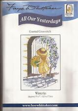 "Counted Cross Stitch All Our Yesterdays 7"" x 5"" Wisteria (073-25)"
