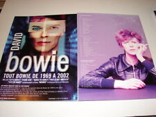 DAVID BOWIE 1969/2002 !!!CD!!!!!!!RARE FRENCH PRESS/KIT