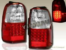 1996-2000 TOYOTA 4RUNNER LED TAIL LIGHTS RED