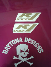 R1 YZF BESPOKE PAIR CUSTOM GRAPHICS DECALS STICKERS ASSORTED COLOURS