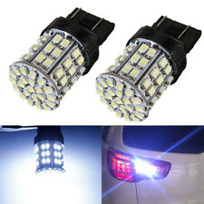 T20 1206 SMD 64 LED 7443 W21/5W 3157 992A Lampe Bulb 2 Connection BLANC Voiture