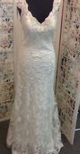 ALLURE BRIDAL GOWN 9212 IVORY size 14