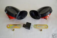 Dual Horn Klaxon Kit For Ford Fiesta Focus Mondeo Ka Puma Kuga Transit Connect