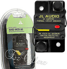 JL AUDIO XMD-MCB-80 Waterproof Ignition Protected Marine Circuit Breaker 80 AMP