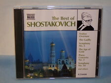 The Best of Shostakovich CD 1997 Naxos-HNH Compilation Conductors Orchestras