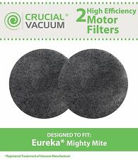 2 Eureka Vacuum MM Motor Filters Fit Mighty Mite & Sanitaire Models 3600 # 38333