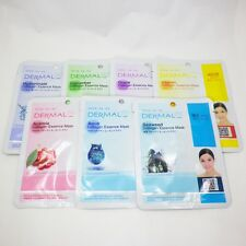 Beauty Dermal Collagen Essence Face Mask Sheet Facial Skin Care Pack 7P 333korea