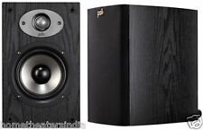 Polk Audio TSx110 Bookshelf Speaker Set, 2Way,100w Black Color