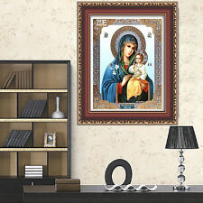 Religion 5D DIY Cross Stitch Home Wall Decor Diamond Painting Mosaic Pictures