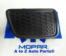 NEW 2014-2016 Jeep Grand Cherokee PASSENGER Side Lower Grille Tow Hook Insert,OE