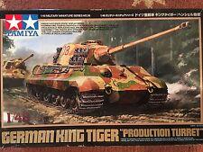 TAMIYA  1/48 King Tiger Production Turret  Kit No. 32536 **Sealed Parts Bags**