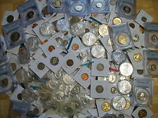 MIXED LOT OF U.S. COINS!! PROOF, UNCIRCULATED!! GUARANTEED SILVER AND GRADED C28