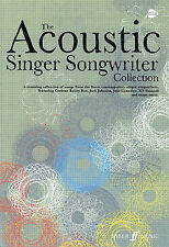 The Acoustic Singer Songwriter Collection Play Piano Guitar Lyrics Music Book