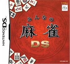 Used Nintendo DS Minna no Mahjong DS Japan Import (Free Shipping)