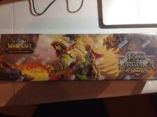 WORLD OF WARCRAFT WORD TOMB OF THE FORGOTTEN  COLLECTION BOX FACT SEALD.