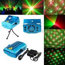 Mini Laser Proiettore Stage Effetti Luci Rosso E Verde Per Disco Feste Natale DJ