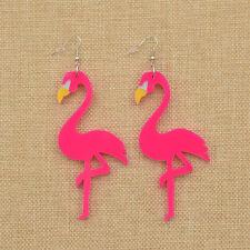 Ohrring Damen Ohranhänger Individualisiert Ohrschmuck Flamingo Ohrstecker 1 Paar
