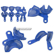 10pcs/Set Plastic-Steel Dental Impression Trays