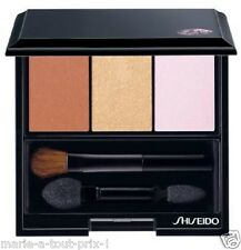 SHISEIDO LUMINIZING SATIN EYE COLOR TRIO OMBRE DOUX ECLAT TRIO BR214 YEUX BR 214