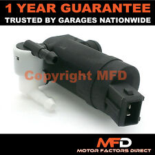 FORD MONDEO MK3 (2000-2003) FRONT & REAR TWIN OUTLET WINDSCREEN WASHER PUMP
