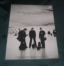 Song book - U2 All That You Can't Leave Behind Guitar TAB edition