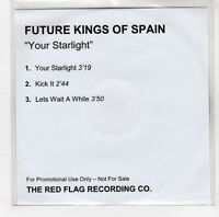 (GI925) Future Kings of Spain, Your Starlight - DJ CD