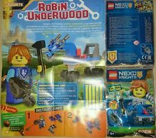 Lego Nexo Knights 271603 ROBIN UNDERWOOD & HORSE Limited Edition New Exclusive