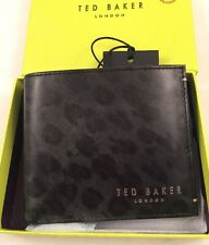 Ted Baker Printed Leopart Bifold Wallet RRP£65