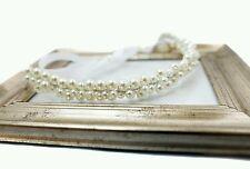 Beautiful Bridal Pearl Headband Head Piece Tiara Wedding Bridesmaid