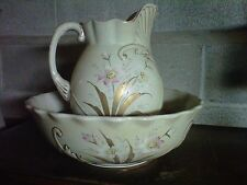Vintage, Large Pitcher and Wash Basin