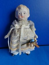 "VINTAGE 6"" ALL BISQUE DOLL- NIPPON"