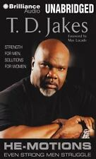 He-Motions : Even Strong Men Struggle by T. D. Jakes (2014, MP3 CD, Unabridged)