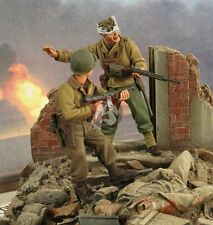 Verlinden 1/35 US GI's in ETO European Theater of Operations WWII (2 Figs.) 2690