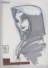 "Clone Wars Rise of the Bounty Hunters - Lord Mesa ""Diathim"" Sketch Card"
