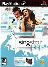 SingStar: Pop (Sony PlayStation 2, 2007)