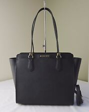 Michael Kors Black Saffiano Leather Dee Dee Large Convertible Tote