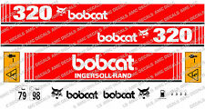 BOBCAT 320 MINI PELLE DECAL SET