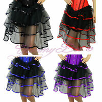 Skirt Frilly Tutu Fancy Dress Burlesque Outfit Costume Womens Plus Size Long Net