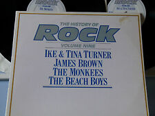 Monkees,BeachBoys,J.Brown,I.&T.Turner-History of Rock Vol.9 2LP Foc.UK-1982