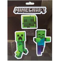 Official Jinx Minecraft - Mobs Caves - Sticker Sheet