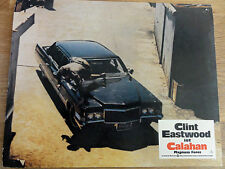 Aushangbild* CALAHAN Dirty Harry II Clint Eastwood Auto 1973